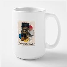 Henri Cartier-Bresson quote Large Mug