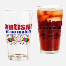 Autism vs my nephew Drinking Glass