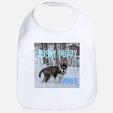 Siberian Husky pup Bib
