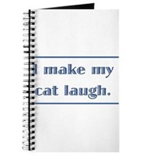 I Make My Cat Laugh Journal