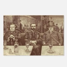 Absinthe Professors Postcards (Package of 8)
