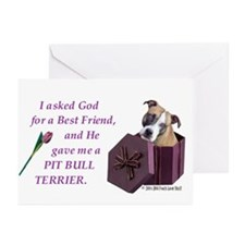 Pit bull terrier items Greeting Cards (Pk of 10)