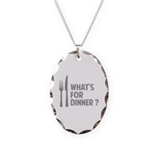 What's for dinner ? Necklace