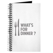 What's for dinner ? Journal