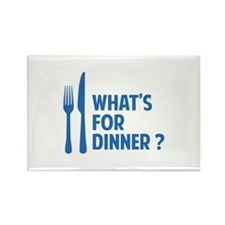 What's for dinner ? Rectangle Magnet (100 pack)