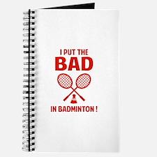 Bad in Badminton Journal
