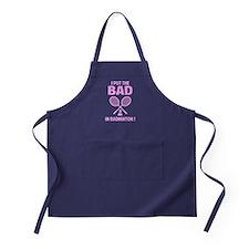 Bad in Badminton Apron (dark)