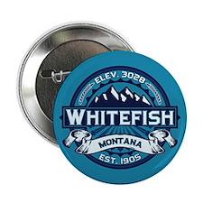 "Whitefish Logo Ice 2.25"" Button"