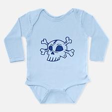 Skull Long Sleeve Infant Bodysuit