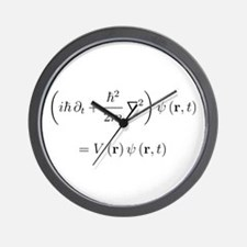 Schrodinger equation, older n Wall Clock