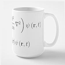 Schrodinger equation, older n Large Mug