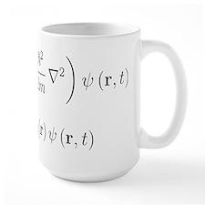 Schrodinger equation, older n Mug
