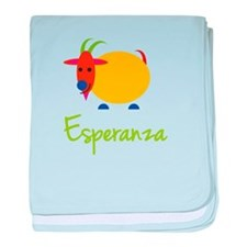 Esperanza The Capricorn Goat baby blanket