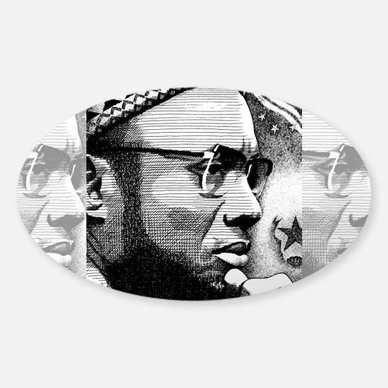 Amilcar Cabral Sticker (Oval)