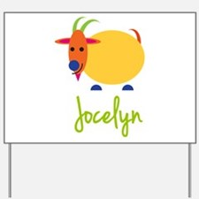 Jocelyn The Capricorn Goat Yard Sign