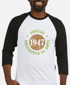 Vintage 1947 Aged To Perfection Baseball Jersey