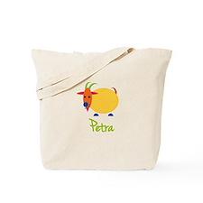 Petra The Capricorn Goat Tote Bag