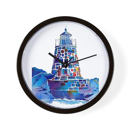 Castle Hill Lighthouse R.I. Wall Clock