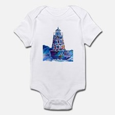 Castle Hill Lighthouse R.I. Infant Bodysuit