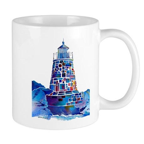 Castle Hill Lighthouse R.I. Mug