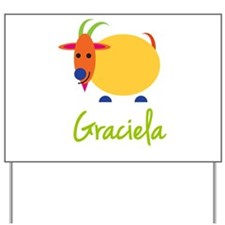 Graciela The Capricorn Goat Yard Sign
