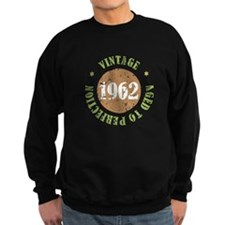 Vintage 1962 Aged To Perfection Sweatshirt
