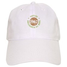 Vintage 1962 Aged To Perfection Baseball Cap