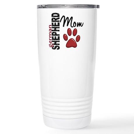 German Shepherd Mom 2 Stainless Steel Travel Mug
