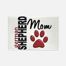 German Shepherd Mom 2 Rectangle Magnet