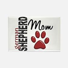 German Shepherd Mom 2 Rectangle Magnet (10 pack)