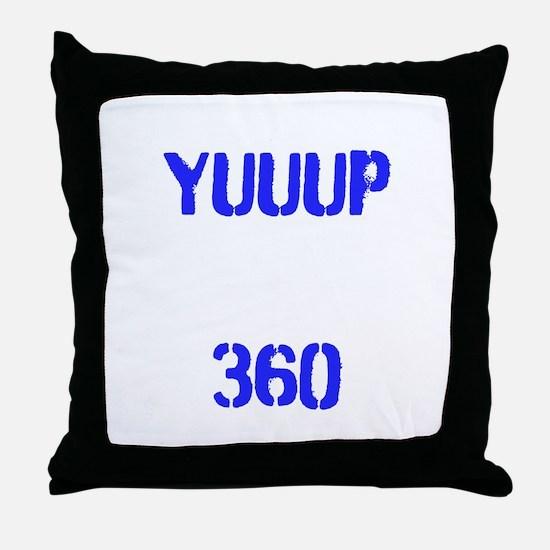 YUUUP 360 Throw Pillow