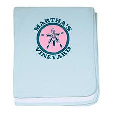 Martha's Vineyard MA - Sand Dollar Design. baby bl