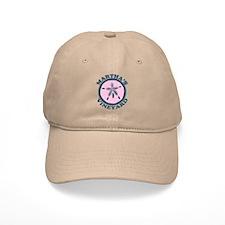 Martha's Vineyard MA - Sand Dollar Design. Baseball Cap
