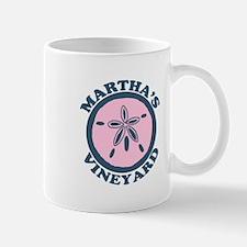 Martha's Vineyard MA - Sand Dollar Design. Mug