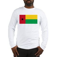Flag of Guinea-Bissau Long Sleeve T-Shirt