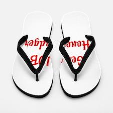 Get a JOB Honey Badger Flip Flops