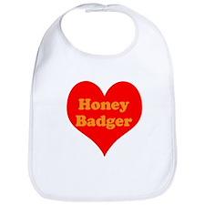Love Honey Badger Bib