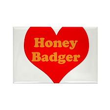 Love Honey Badger Rectangle Magnet (10 pack)