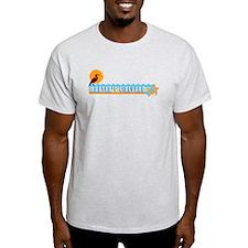 Martha's Vineyard MA - Beach Design. T-Shirt