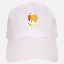 Beatriz The Baseball Baseball Capricorn Goat Baseball Baseball Cap