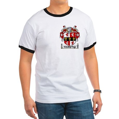 Murphy Coat of Arms Ringer T
