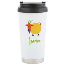 Jeanine The Capricorn Goat Travel Mug