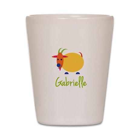 Gabrielle The Capricorn Goat Shot Glass