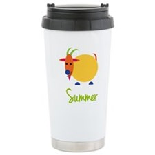 Summer The Capricorn Goat Travel Mug