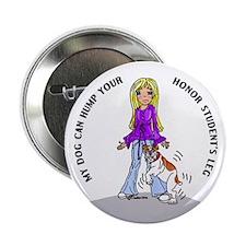 Bulldog Honor Student Button
