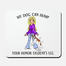 Bulldog Honor Student Mousepad