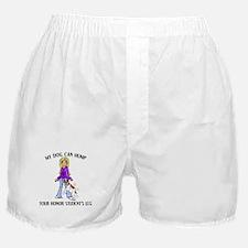 Bulldog Honor Student Boxer Shorts