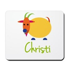 Christi The Capricorn Goat Mousepad