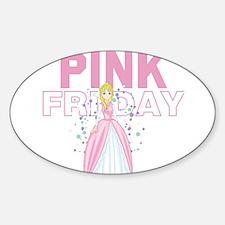 Funny Minaj Sticker (Oval)
