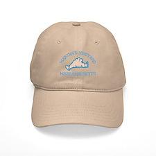 Martha's Vineyard MA - Map Design. Baseball Cap